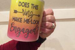 Engagement Mug Gift